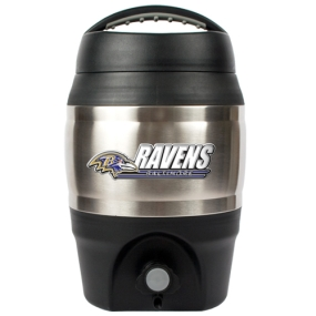 Baltimore Ravens 1 Gallon Tailgate Keg