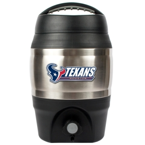Houston Texans 1 Gallon Tailgate Keg
