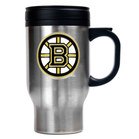 Boston Bruins Stainless Steel Travel Mug