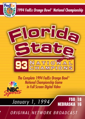 1994 FedEx Orange Bowl National Championship Game