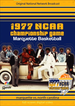 1977 NCAA Championship Game - Marquette vs. North Carolina