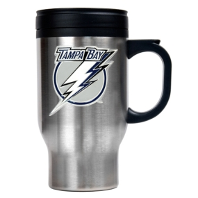 Tampa Bay Lightning Stainless Steel Travel Mug