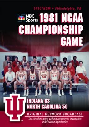 1981 NCAA Championship: Indiana vs UNC