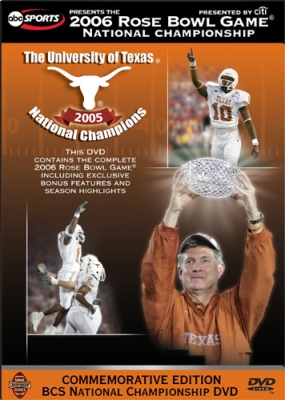 2006 Rose Bowl:  Texas vs USC