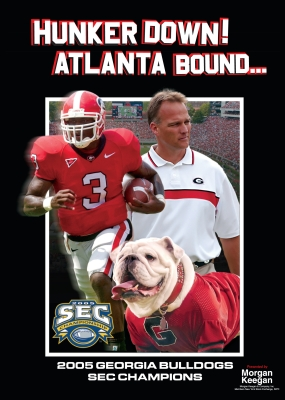 2005 Georgia Bulldogs: Huker Down! Atlanta Bound