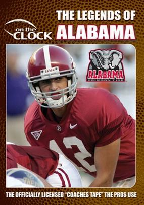 The Legends of the Crimson Tide of Alabama