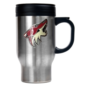 Phoenix Coyotes Stainless Steel Travel Mug