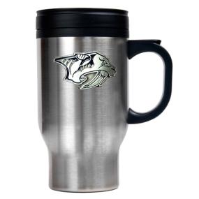 Nashville Predators Stainless Steel Travel Mug