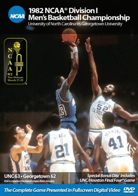 1982 NCAA Championship North Carolina vs. Georgetown