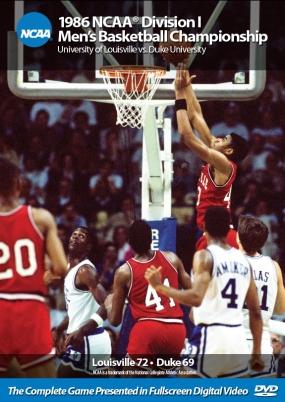 1986 NCAA Championship Louisville vs. Duke