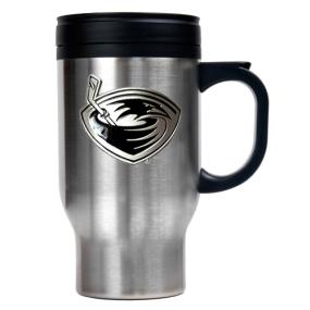 Atlanta Thrashers Stainless Steel Travel Mug
