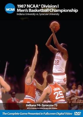 1987 NCAA Championship Indiana vs. Syracruse