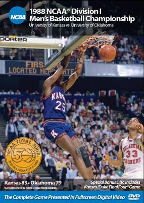 1988 NCAA Championship Kansas vs. Oklahoma