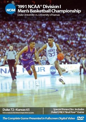 1991 NCAA Championship Duke vs. Kansas
