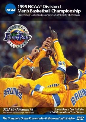 1995 NCAA Championship UCLA vs. Arkansas