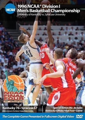 1996 NCAA Chamionship Kentucky vs. Syracruse