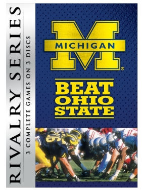 NCAA Rivalry Series DVD:  Michigan Beats Ohio State
