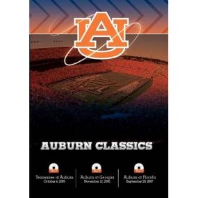 Auburn SEC Classics 3-DVD Set