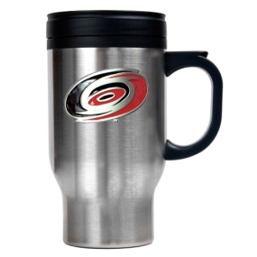 Carolina Hurricanes Stainless Steel Travel Mug