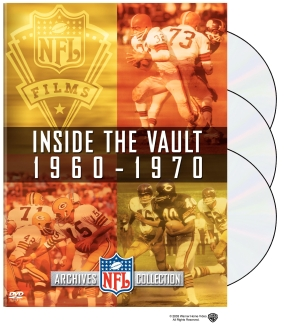 NFL Films Archive Collection: Inside the Vault V. 1-3