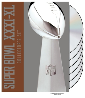 NFL Super Bowl Collections: Super Bowl XXXI-XL