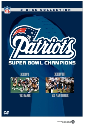 NFL New England Patriots Super Bowl Champs 2-Pack