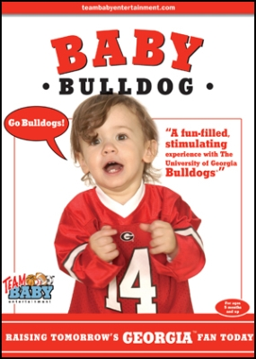 "BABY BULLDOG ""Raising Tomorrow's Georgia Fan Today!"""
