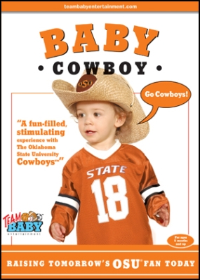 "BABY COWBOY ""Raising Tomorrow's OSU Fan Today!"""