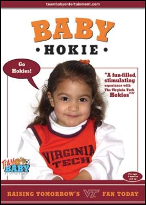 """BABY HOKIE BIRD """"Raising Tomorrow's VT Fan Today!"""""""