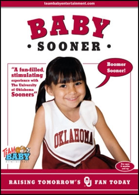 "BABY SOONER ""Raising Tomorrow's OU Fan Today!"""
