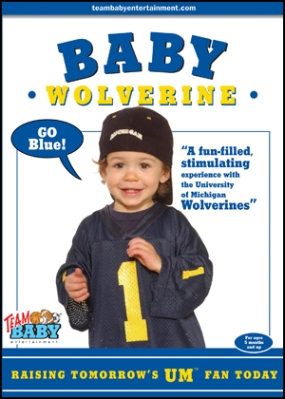 "BABY WOLVERINE ""Raising Tomorrow's UM Fan Today!"""