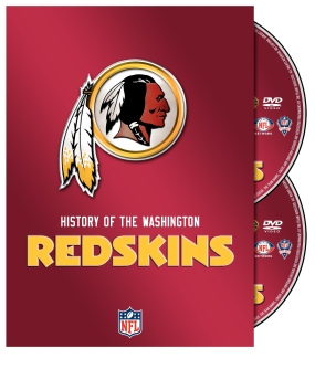 History of the Washington Redskins DVD