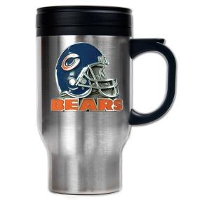 Chicago Bears 16oz Stainless Steel Travel Mug