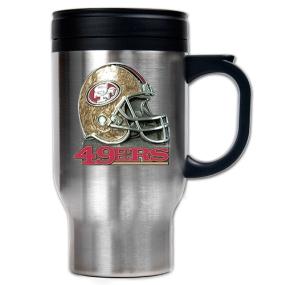 San Francisco 49ers 16oz Stainless Steel Travel Mug