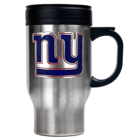 New York Giants 16oz Stainless Steel Travel Mug
