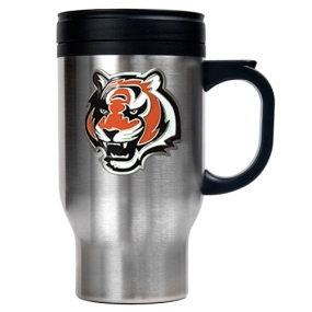 Cincinnati Bengals 16oz Stainless Steel Travel Mug