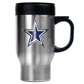 Dallas Cowboys 16oz Stainless Steel Travel Mug