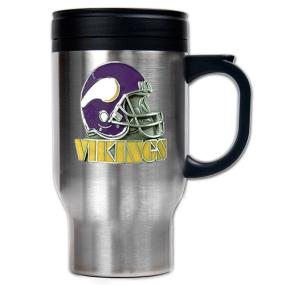 Minnesota Vikings 16oz Stainless Steel Travel Mug