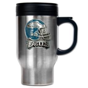 Philadelphia Eagles 16oz Stainless Steel Travel Mug