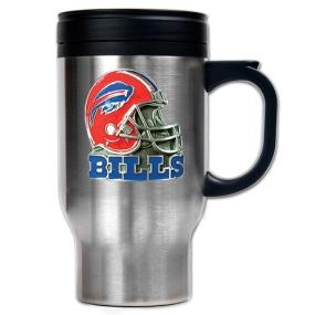 Buffalo Bills 16oz Stainless Steel Travel Mug