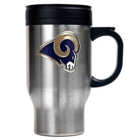 Saint Louis Rams 16oz Stainless Steel Travel Mug