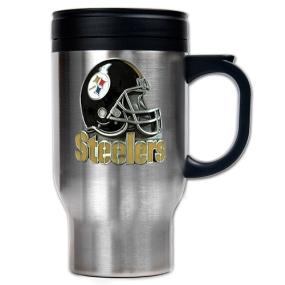 Pittsburgh Steelers 16oz Stainless Steel Travel Mug