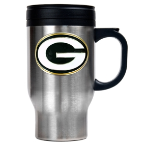 Green Bay Packers 16oz Stainless Steel Travel Mug