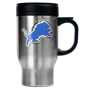 Detroit Lions 16oz Stainless Steel Travel Mug