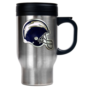 San Diego Chargers 16oz Stainless Steel Travel Mug