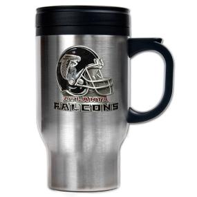 Atlanta Falcons 16oz Stainless Steel Travel Mug