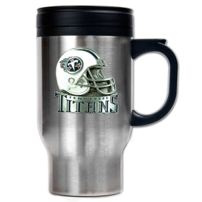 Tennessee Titans 16oz Stainless Steel Travel Mug