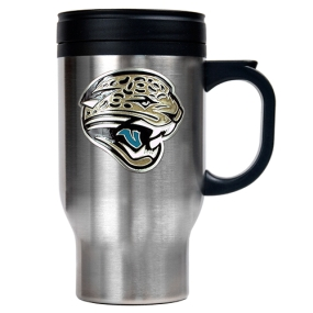 Jacksonville Jaguars 16oz Stainless Steel Travel Mug
