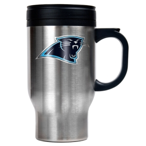 Carolina Panthers 16oz Stainless Steel Travel Mug
