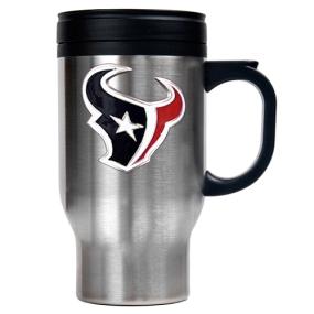 Houston Texans 16oz Stainless Steel Travel Mug